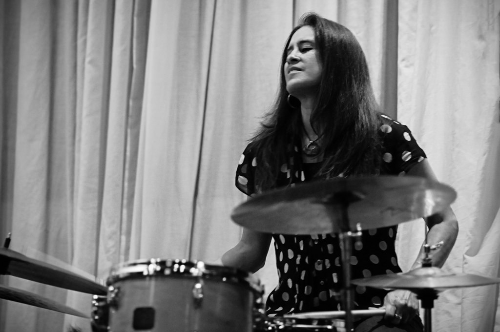 Photo of DRUMMER WANITA – SYLVIA CUENCA