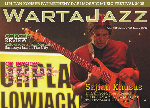Photo of WartaJazz PDF Edisi 01