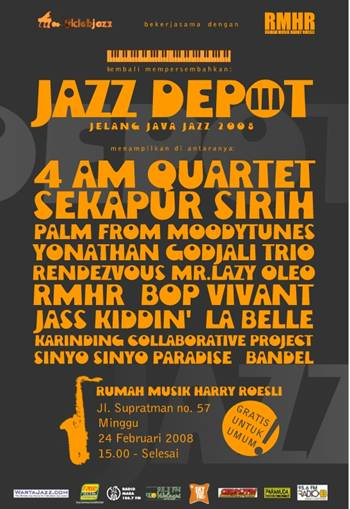 Photo of JAZZ DEPOT III DIGELAR DI BANDUNG