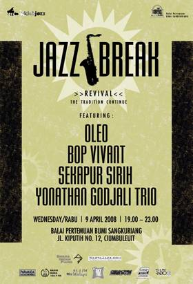 Photo of KEMBALI HADIR JAZZ BREAK >>REVIVAL