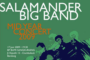 Photo of Konser tengah tahun Salamander Big Band di Bandung