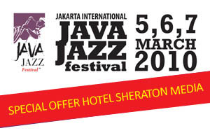 Photo of Paket menginap di Hotel Sheraton Media selama Java Jazz Festival 2010