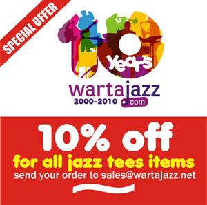 Photo of Diskon 10% untuk seluruh kaos Jazz