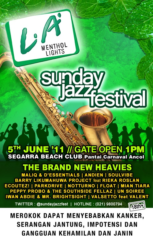 Photo of Brand New Heavis bakal hadir di LA Menthol Lights Sunday Jazz Festival
