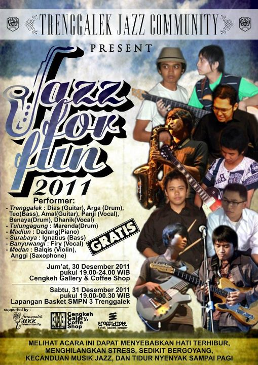 Photo of Jazz For Fun, 'Ngejazz' Akhir Tahun Bersama Trenggalek Jazz Community