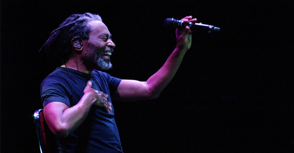 Photo of Djarum Super Mild Java Jazz Festival 2012: Bobby McFerrin (Maria Sancti Tukan), Orkestrasi bunyi dan kolaborasi