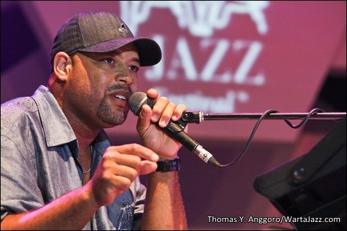 Photo of Geliat Soul Frank McComb di Djarum Super Mild Java Jazz Festival 2012