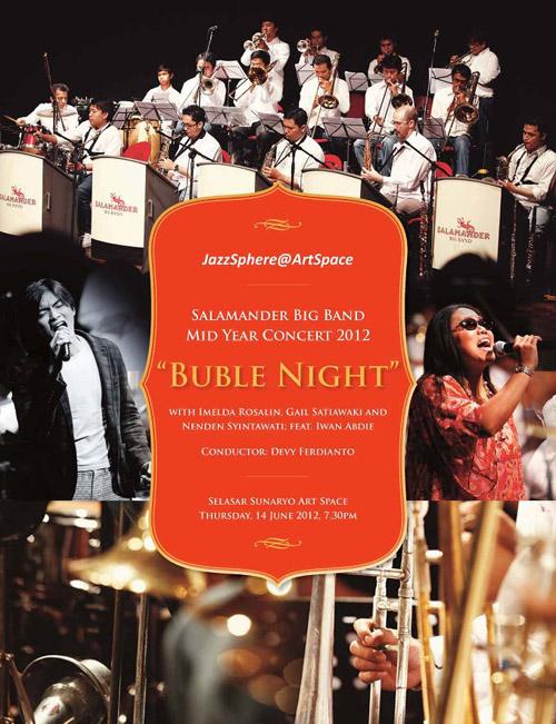 Photo of Salamander Big Band ketengahkan konser tengah tahun Buble Night