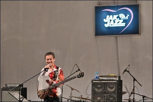 "Photo of ""Minus one"" ala Tetsuo Sakurai di Djarum Super Mild Jak Jazz Festival 2012"