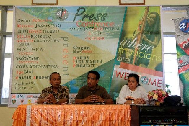 Photo of Ambon Jazz Plus Festival edisi keempat di Lapangan Merdeka Ambon