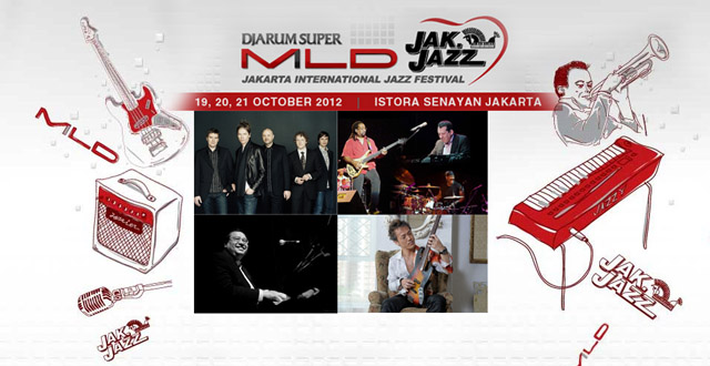 Photo of Inilah jadwal Djarum Super Mild Jak Jazz Festival 2012 selengkapnya