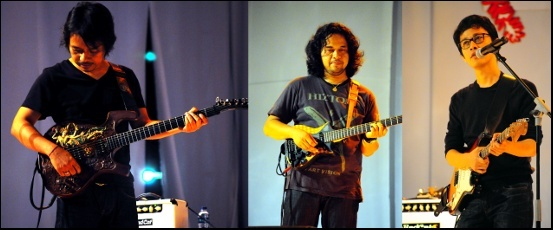 Photo of Trisum Buka Hari Pertama Djarum Super Mild JakJazz 2012