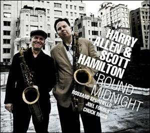 Photo of Harry Allen & Scott Hamilton – 'Round Midnight