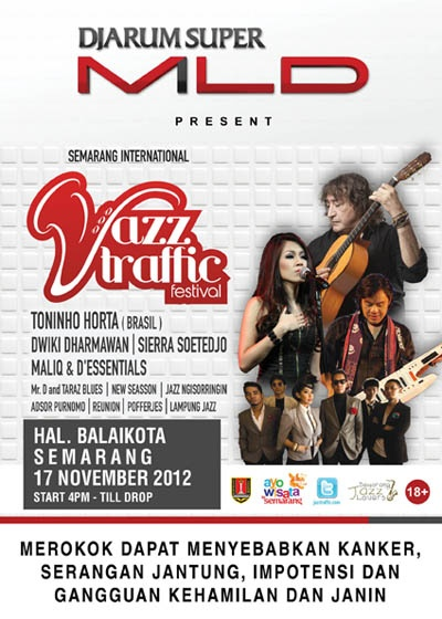 Photo of Djarum Super Mild Jazz Traffic Semarang bernafas Brazil