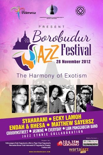Photo of Borobudur Jazz Festival digelar Kementerian Pariwisata dan Ekonomi Kreatif.