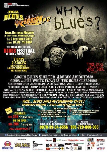 Photo of Jogja Blues Explosion 2, whyblues? Letupan Blues dari Yogyakarta, untuk Dunia