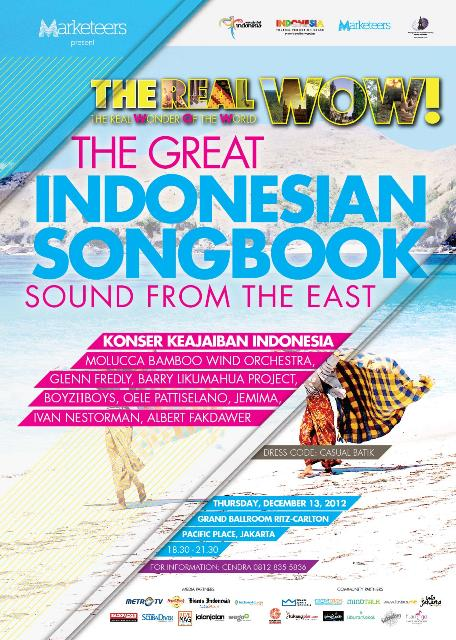 Photo of Konser The Real WOW – The Great Indonesian Song Book – Sound from the East