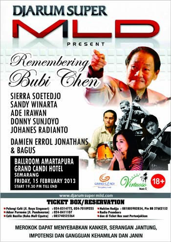 Photo of Konser Remembering Bubi Chen digelar Semarang Jazz Lovers