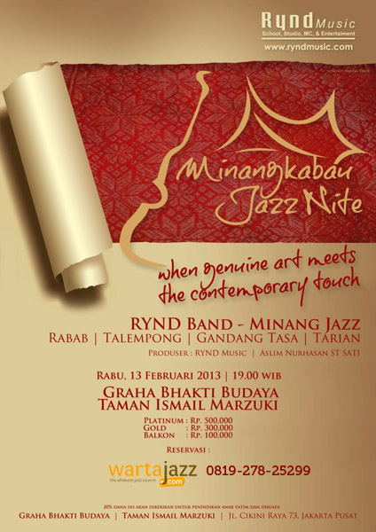 Photo of Minangkabau Jazz Nite di Taman Ismail Marzuki