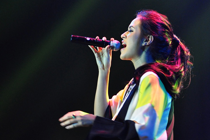 Photo of Kemeriahan BNI Hall Oleh Alunan Suara Emas Raisa dan Tompi di Java Jazz Festival 2013