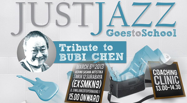 """Photo of Just Jazz Goes to School """"Tribute to Bubi Chen"""""""