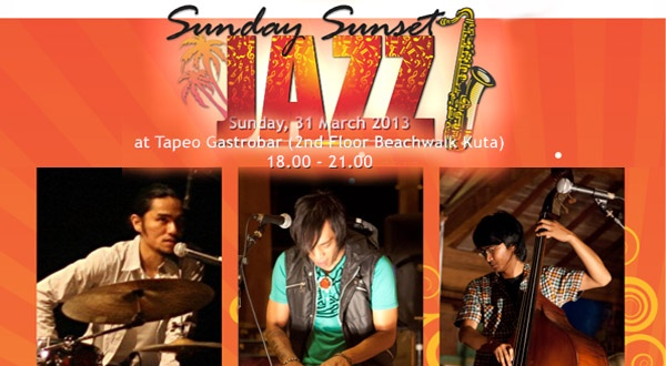 Photo of Sunset Jazz Bali bersama Karma Trio