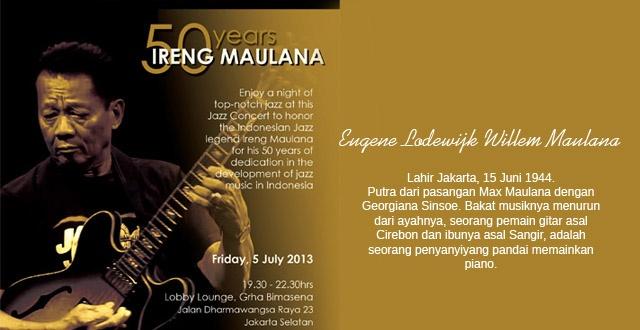 Photo of Ireng Maulana rayakan 50 tahun berkarya di Jazz in Crowd Bimasena