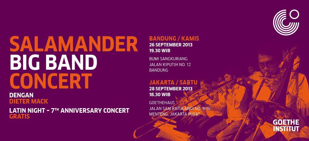 Photo of Rayakan ulang tahun ke-7 Salamander Big Band gelar konser di Bandung