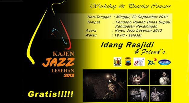 Photo of Idang Rasjidi hadiri Kajen Jazz Lesehan 2013 di Pekalongan
