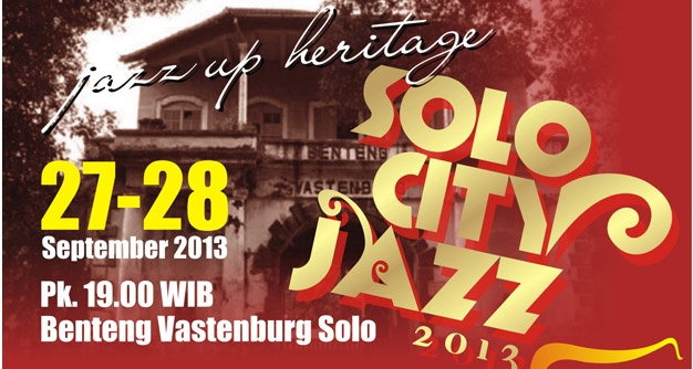Photo of Solo City Jazz 2013 – Jazz up Heritage