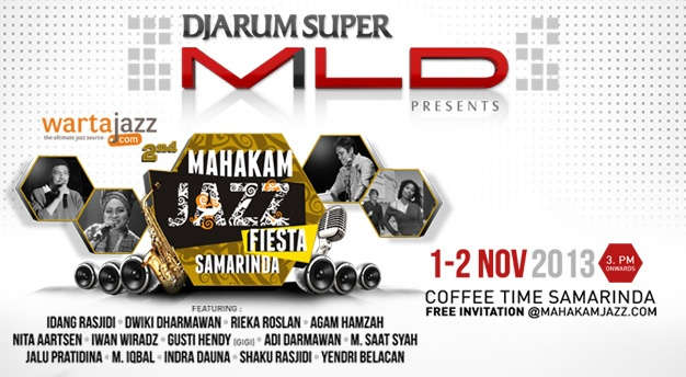 Photo of Kolaborasi Djarum Super Mild dan WartaJazz hadirkan Mahakam Jazz Fiesta 2013