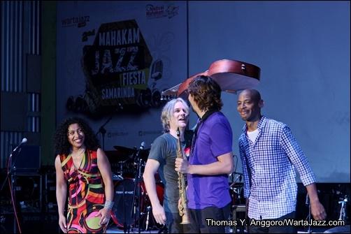 Photo of Tampil perdana,Boi Akih getarkan Mahakam Jazz Fiesta Samarinda 2013