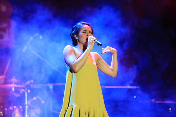 Debut Andien di Jazz Traffic Festival (Alfan WJ)