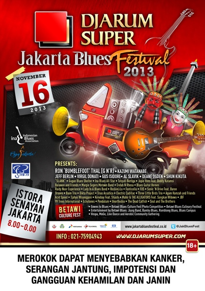 Photo of Jakarta International Blues Festival 2013 usung tema Blues N'Fruits