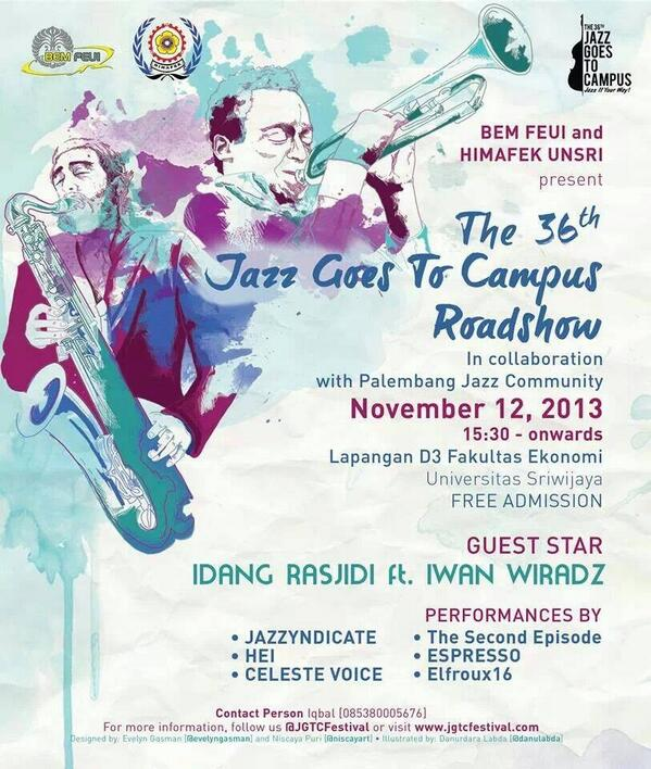 Photo of Road Show Jazz Goes To Campus with Idang Rasjidi Syndicate