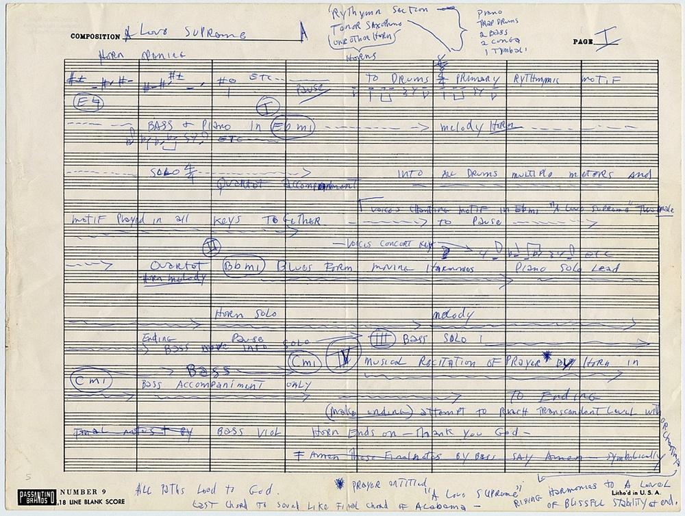 """Photo of Jelang 50 tahun """"A Love Supreme,"""" Smithsonian Institute pamerkan naskah asli John Coltrane"""