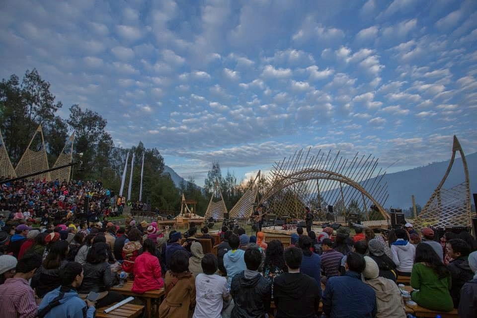 Photo of Jazz Gunung 2014 Hari Pertama: Gema jazz di gunung dan harmoni alam