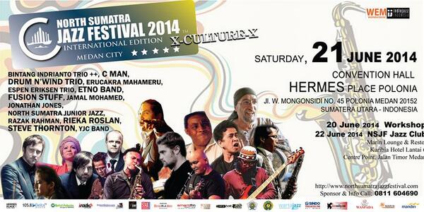 Photo of Medan hadirkan North Sumatra Jazz Festival edisi ke empat