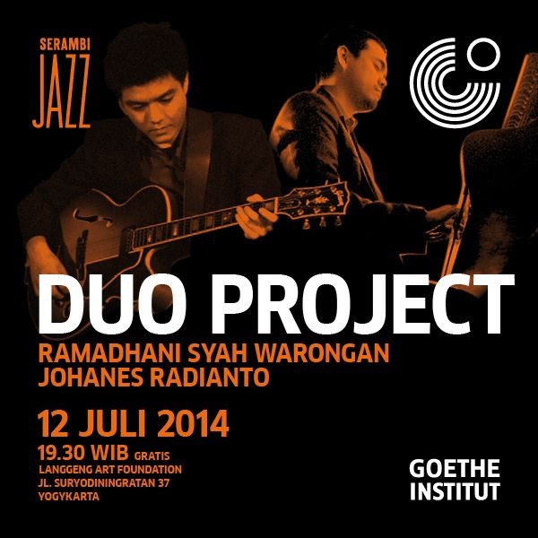 Photo of Serambi Jazz Duo Project Ramadhani Syah & Johanes Radianto Hadir di Jogja