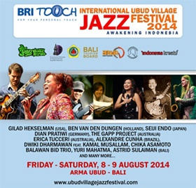 Photo of BRI TOUCH International Ubud Village Jazz Festival 2014