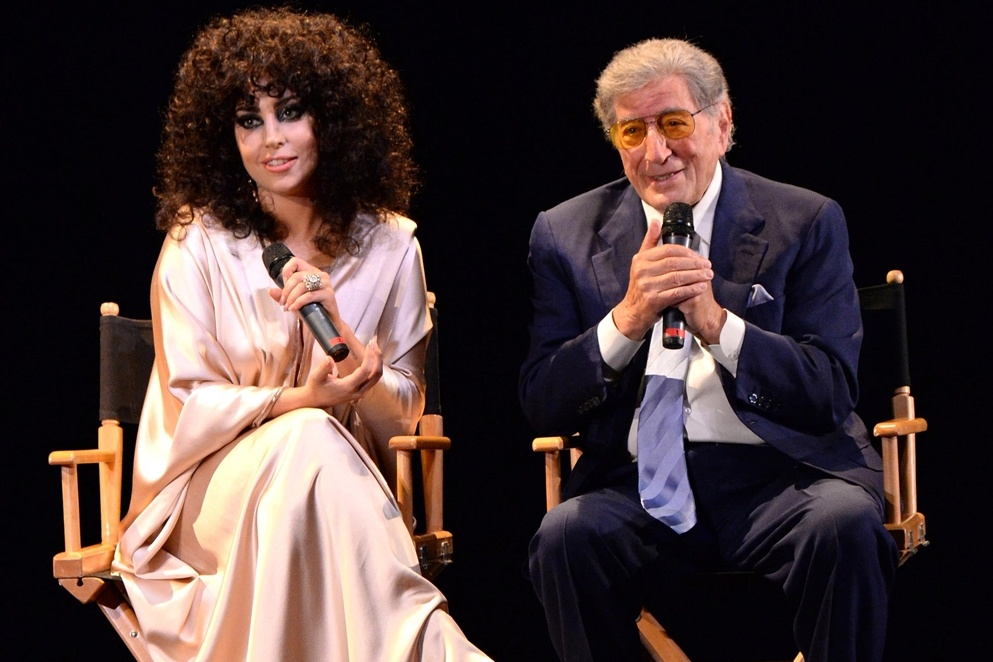 "Photo of Tony Bennett dan Lady Gaga rilis album duet ""Cheek to Cheek,"" 23 September"