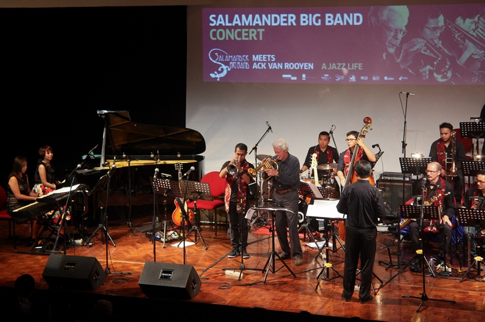 "Photo of Riwayat jazz Salamander Big Band dan Ack van Rooyen dalam ""A Jazz Life"""
