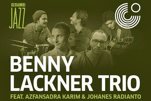 Photo of Benny Lackner Trio feat. Adra Karim & Johanes Radianto di Serambi Jazz, Jakarta, 16 Oktober
