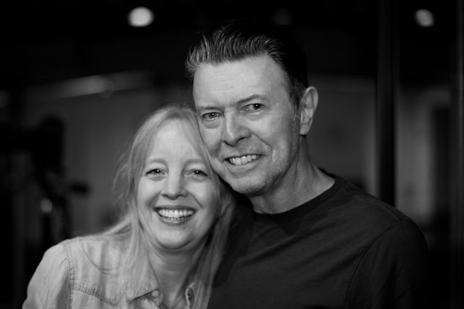 Photo of David Bowie rekam singel baru bersama Maria Schneider Orchestra