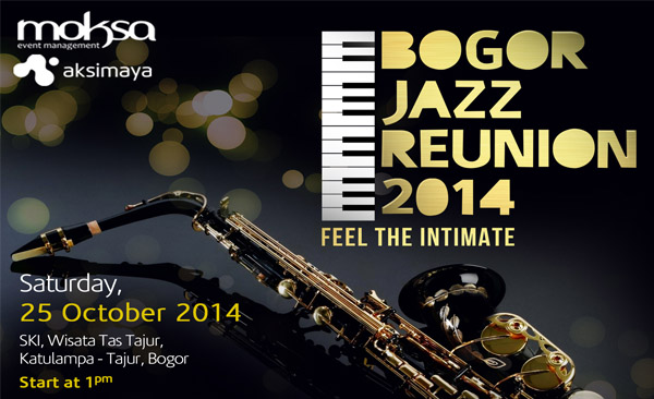 Photo of Bogor Jazz Reunion digelar 25 Oktober di SKI Katulampa