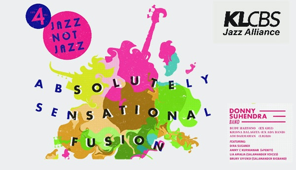 """Photo of 4th Jazz not Jazz """"Absolutely Sensational Fusion"""" Desember tampilkan Donny Suhendra"""