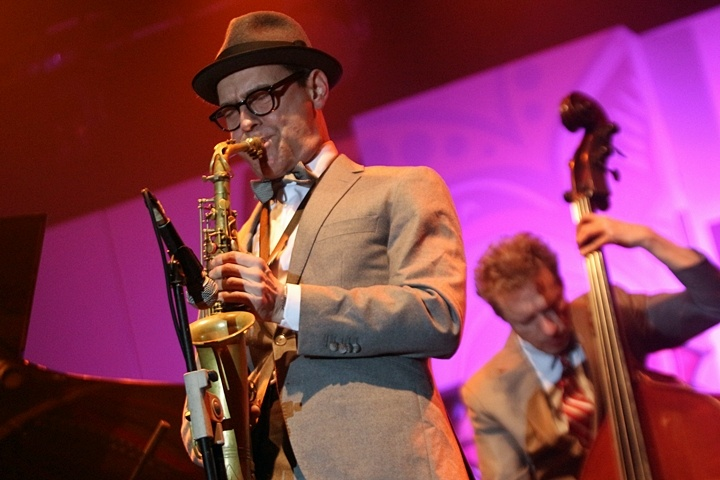Photo of Benjamin Herman Quartet hangatkan Java Jazz Festival 2015