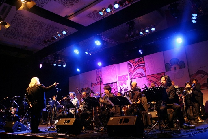 Photo of Blue Note Tokyo All-Stars Jazz Orchestra pukau pengunjung  Java Jazz Festival 2015