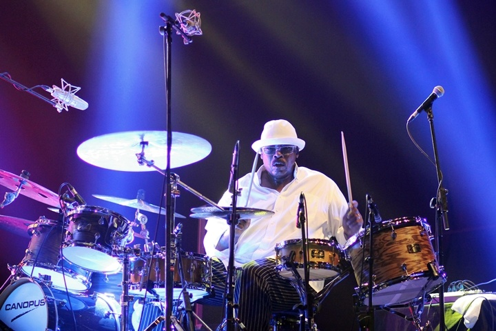 "Photo of Harvey Mason ""Chameleon"" (Java Jazz Festival 2015)"