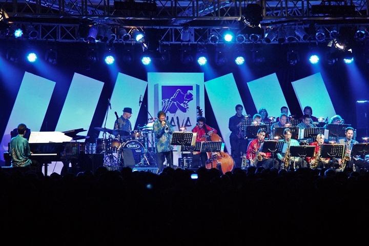 Photo of Ron King Big Band, penampil veteran Java Jazz Festival